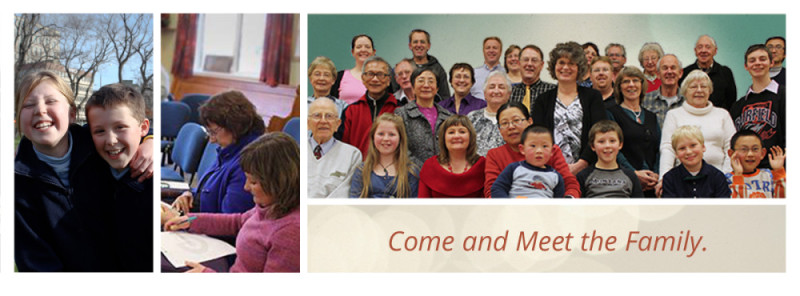 Come and meet the family at Dunedin Church of Christ.