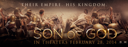 """Son of God"" Movie Poster"